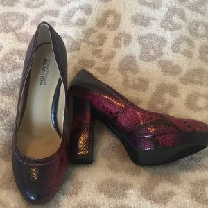 Kenneth Cole reaction heels 💜💓